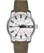 Diesel DZ1781 Pánská armbar zelený kožený řemínek hodinky
