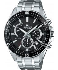 Casio EFR-552D-1AVUEF Pánská budova premium silver chronograf hodinky