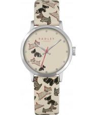 Radley RY2367 Dámy Fleet Street krém kožený řemínek hodinky