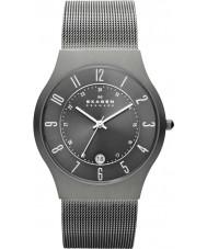 Skagen 233XLTTM Pánská Klassik šedá titanu oka hodinky