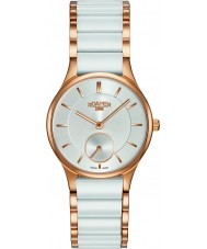 Roamer 677855-49-15-60 Dámy ceraline bílé keramické náramek hodinky