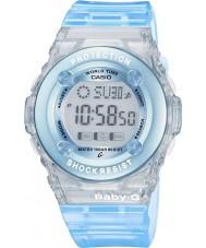 Casio BG-1302-2ER Dámy baby-g blue chronograf hodinky