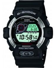 Casio GR-8900-1ER Pánská g-shock solární pohon černá pryskyřice popruh hodinky