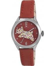 Radley RY2175 Dámy červený kožený řemínek hodinky