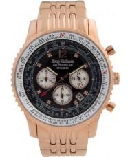 Krug-Baumen 600602DS Pánská vzduchu cestovatel diamantové hodinky