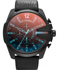 Diesel DZ4323 Pánská mega šéf černá chronograf hodinky