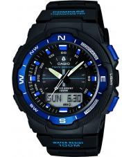 Casio SGW-500H-2BVER Pánská kolekce kompas černý combi hodinky