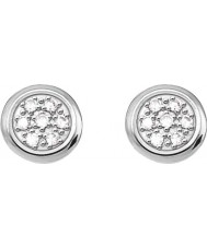Thomas Sabo D-H0001-725-14 Dámy glam a duše 925 mincovní stříbro diamantové náušnice
