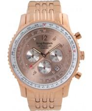 Krug-Baumen 600603DS Pánská vzduchu cestovatel diamantové hodinky