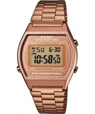 Casio B640WC-5AEF Dámy retro kolekce digitální rose zlaté hodinky
