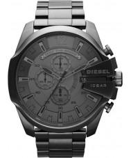 Diesel DZ4282 Pánská mega šéf gunmetal chronograf hodinky