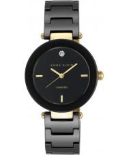 Anne Klein AK-N1018BKBK Dámy alice hodinky