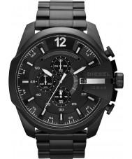 Diesel DZ4283 Pánská mega šéf černá ip chronograf hodinky