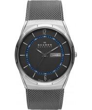 Skagen SKW6078 Pánská aktiv šedý mesh titanové hodinky