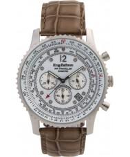 Krug-Baumen 600501DS Pánská vzduchu cestovatel diamantové hodinky