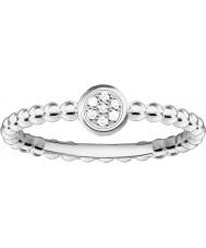Thomas Sabo D-TR0004-725-14-54 Dámy glam a duše 925 mincovní stříbro diamantový prsten - velikost Ø (EU 54)