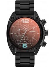 Diesel DZ4316 Pánská přetečení černá ip chronograf hodinky