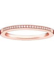Thomas Sabo D-TR0006-923-14-52 Dámy glam a duše růže pozlacené diamantový prsten - size M.5 (EU 52)